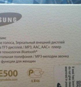 Самсунг Е500