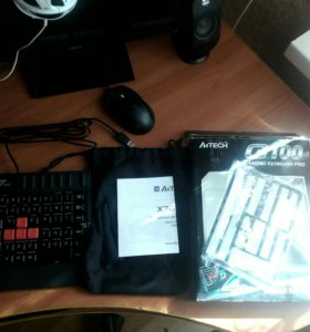 Клавиатура a4tech x7 g100