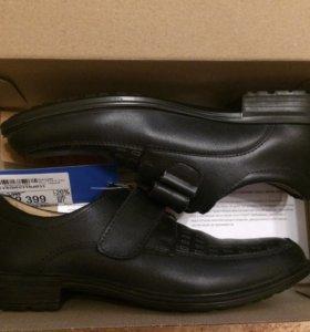 Ботинки чёрные для мальчика
