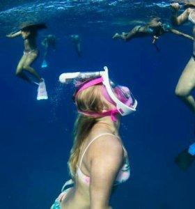 Подводное плавание маска+доставка