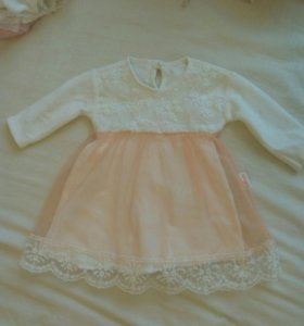 Платье с бархатом