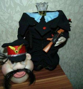 Кукла футляр под алкоголь