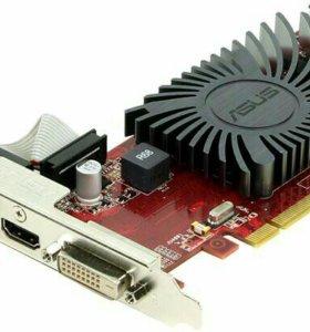 Видеокарта ASUS AMD Radeon DDR5 1ГБ Шина 128Бит