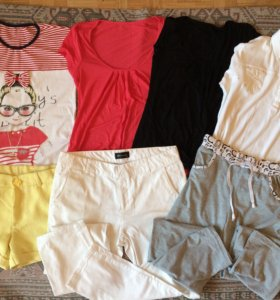 Пакет вещей на девочку, размер 42