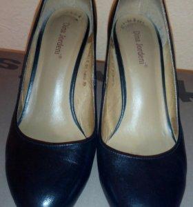 Туфли кожаные, размер 35
