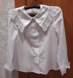 Белые нарядные блузки