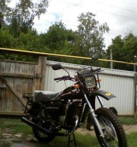 Мотоцикл минск-лесник