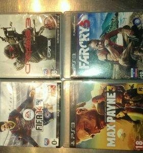 Sony PlayStation 3 super slim+игры