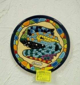 Декоративная тарелка gaudi