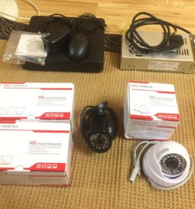 Комплект видеонаблюдения камеры безопасности