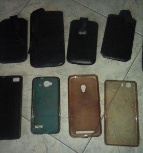 Чехлы на смартфоны