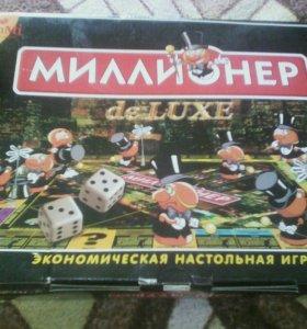 """Настольная игра """"Миллионер de LUXE"""""""