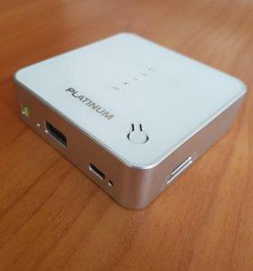 Мобильный роутерPlatinum3G+резервный аккумулятор