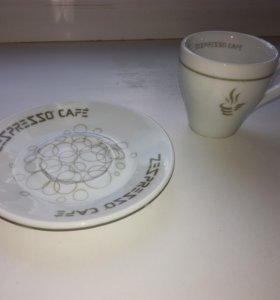 Zepter блюдце и чашка для кофе