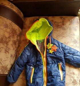 Куртка на 2 года для мальчика