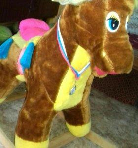 Лошадка-качелька