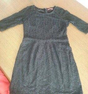 Элегантное чёрное платье