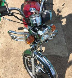 Мотоцикл Альфа 72сс