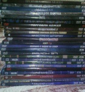 DVD диски(60шт)