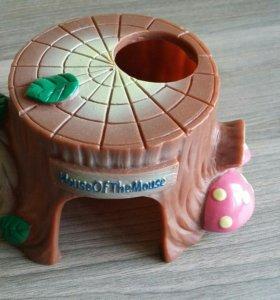 Домики и прогулочный шар для хомяка