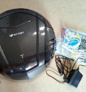 Робот- пылесос Kitfort kt511-1 черный
