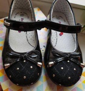 Новые туфли для девочки! Нат. Кожа