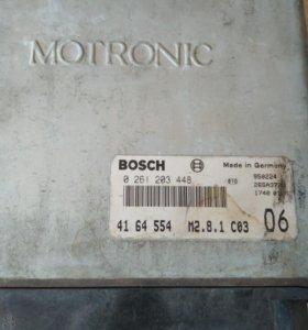 ЭБУ BOSCH MOTRONIC 0 261 203 448 Saab 9000 3л V6