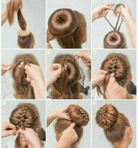 Плетение кос,на дому