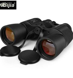 Бинокль Bijia 10-30x50 Новый