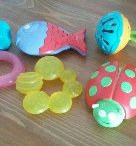 игрушки - погремушки Imaginarium, прорезыватели