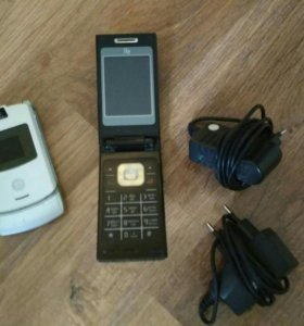 Телефоны fly & Motorola
