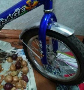 Детский четырехколесный велосипед