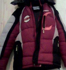Зимняя куртка.10,11лет.