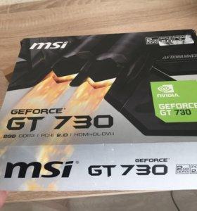 СРОЧНО ПРОДАМ!! Видеокарту от MSI GT 730 ddr3