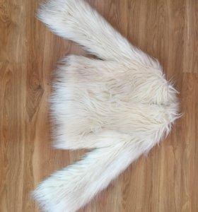 Куртка из искусственной шерсти ЛАМЫ