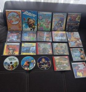 Игры на PC DVD CD, мультики и фильмы