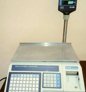 Весы с термопечатью CAS LP-15R