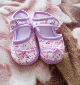 сандалики с мягкой подошвой для