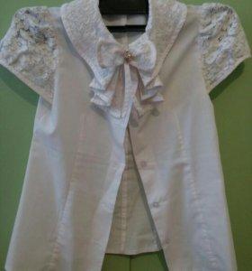 Блузка белая для школы