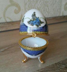 Шкатулка керамика