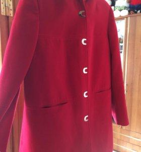 Пальто кашемир, женское, торг
