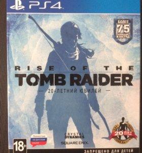 PS4 игры Tomb raider