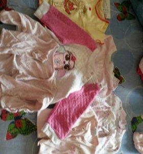 Р. 56- 68 пакет вещей для девочки