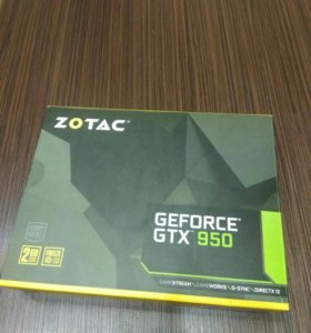 ZOTAC® GEFORCE GTX™ 950 | 2 GB