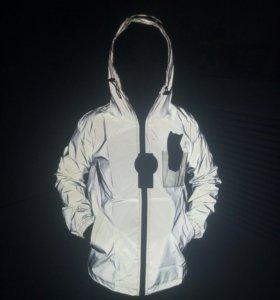 Рефлективная куртка ripndip, новая