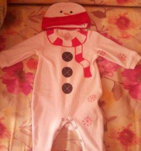 Новогодний костюмчик для малыша.