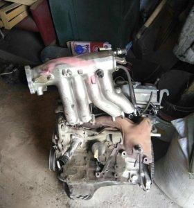 двигатель 3s fe в сборе, провернул вкладыш.