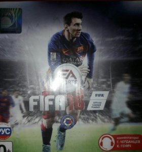 Диск FIFA 16 на PS 3