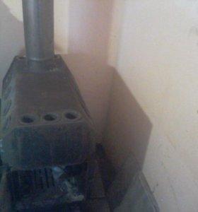 печь на твёрдом топливе