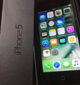 iPhone 5/16gb чёрный